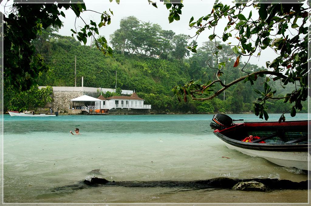 Пляж острова обезьян