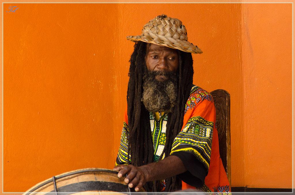 Регги-барабанщик