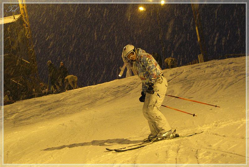 Сегодня мы лыжники