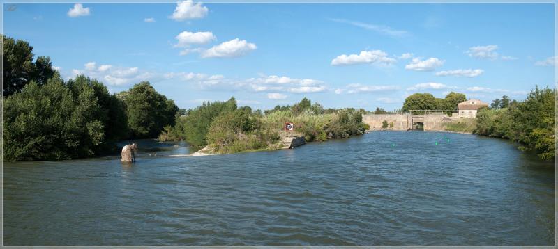 Пересечение реки д\'Од