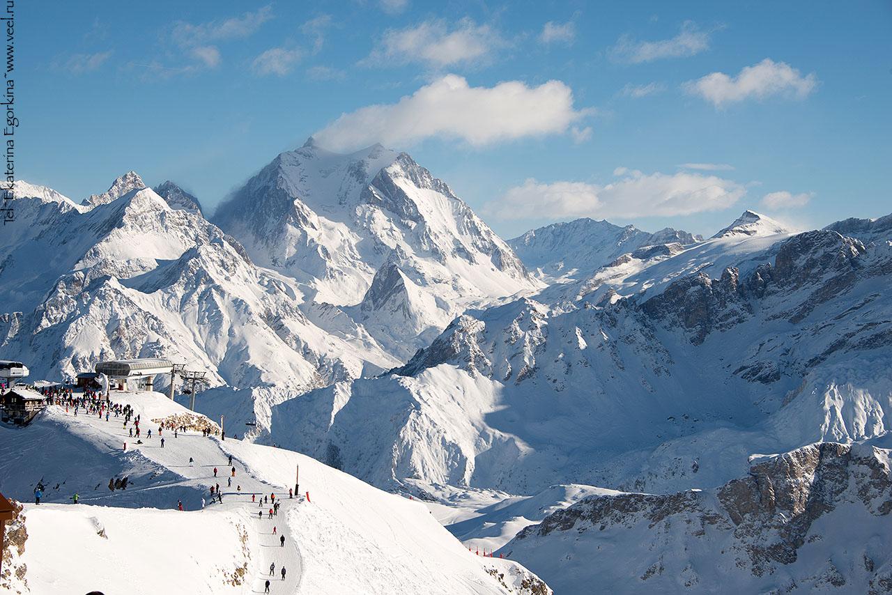 Вершины Chamonix-Mont-Blanc (Шамони-Мон Блан)