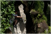 Сквозь водопад