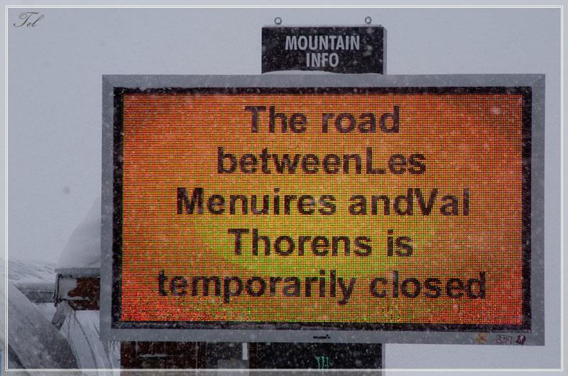 Дорога закрыта
