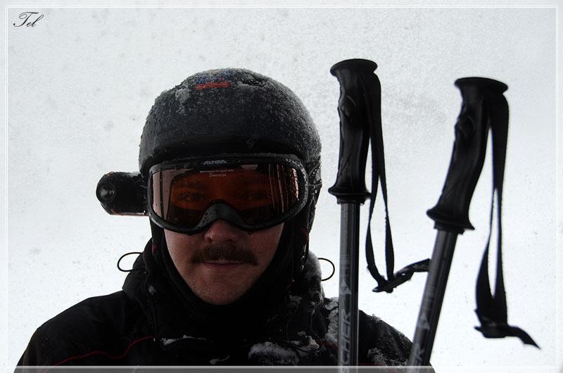 Лыжник с ледком