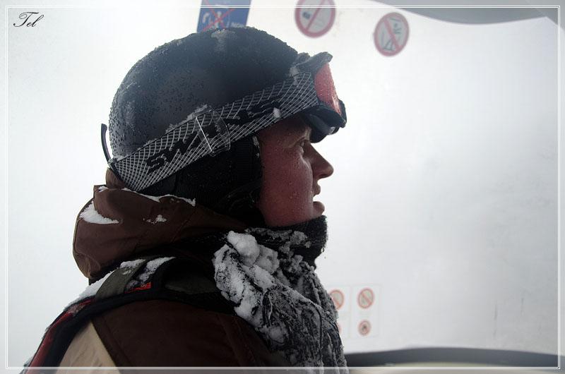 Ледяной сноубордист