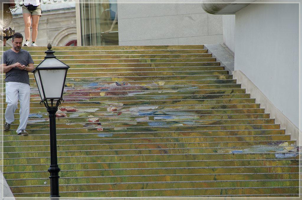 Расписная лестница