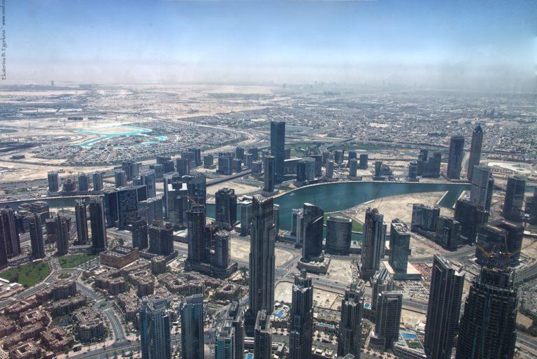 Башня Халифа в Дубаи