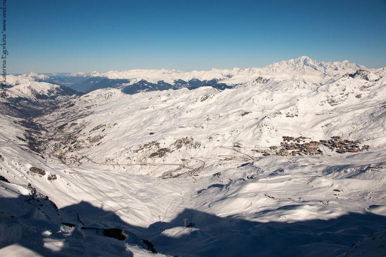 Снежный новый год в Val Thorens