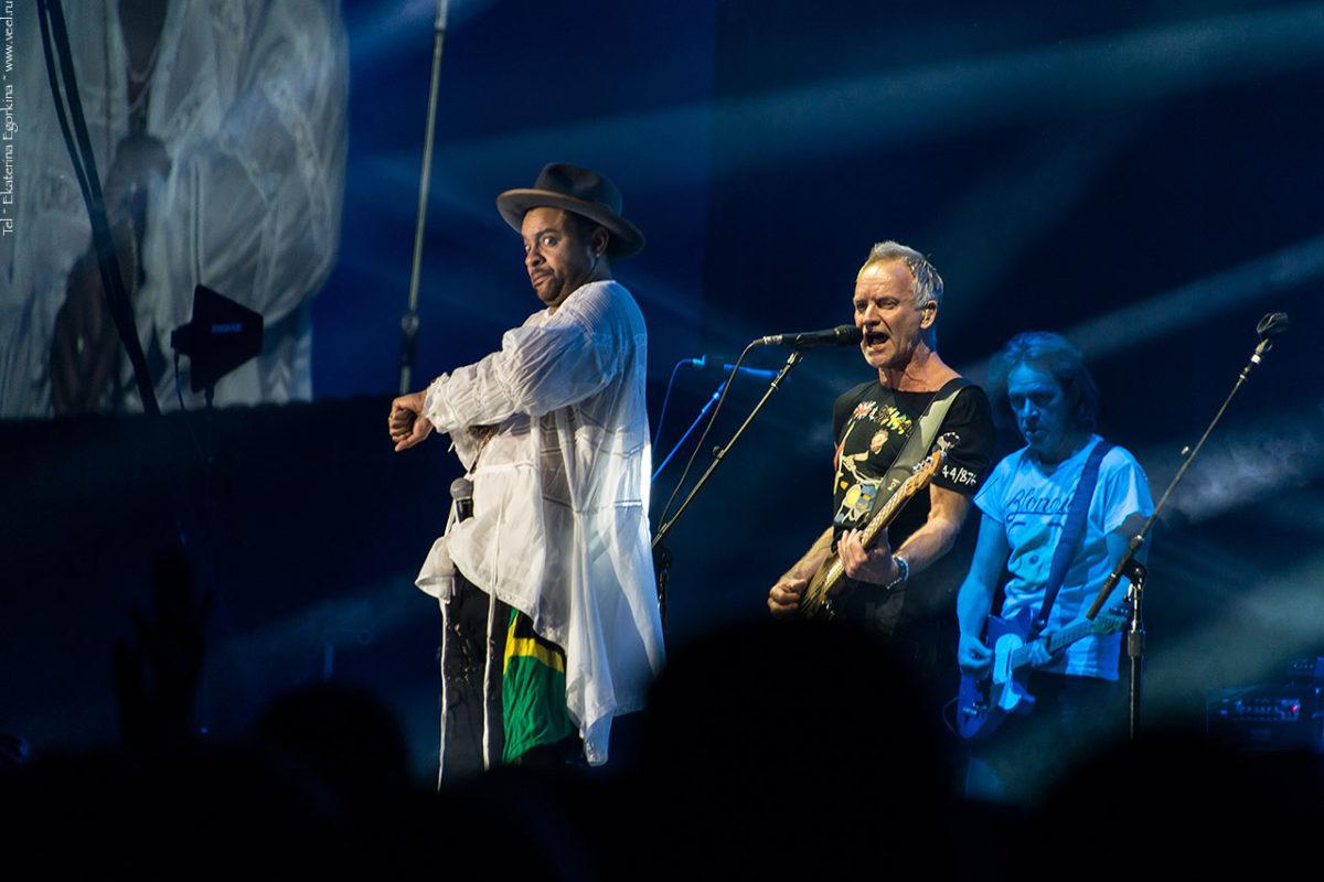 Концерт Sting & Shaggy