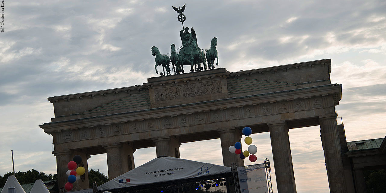 Берлин. Взгляд проезжающего туриста.