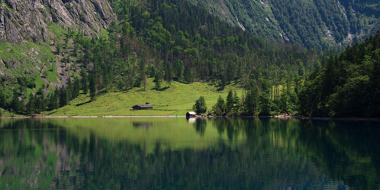 Альпийская сказка – озеро Кёнигзее
