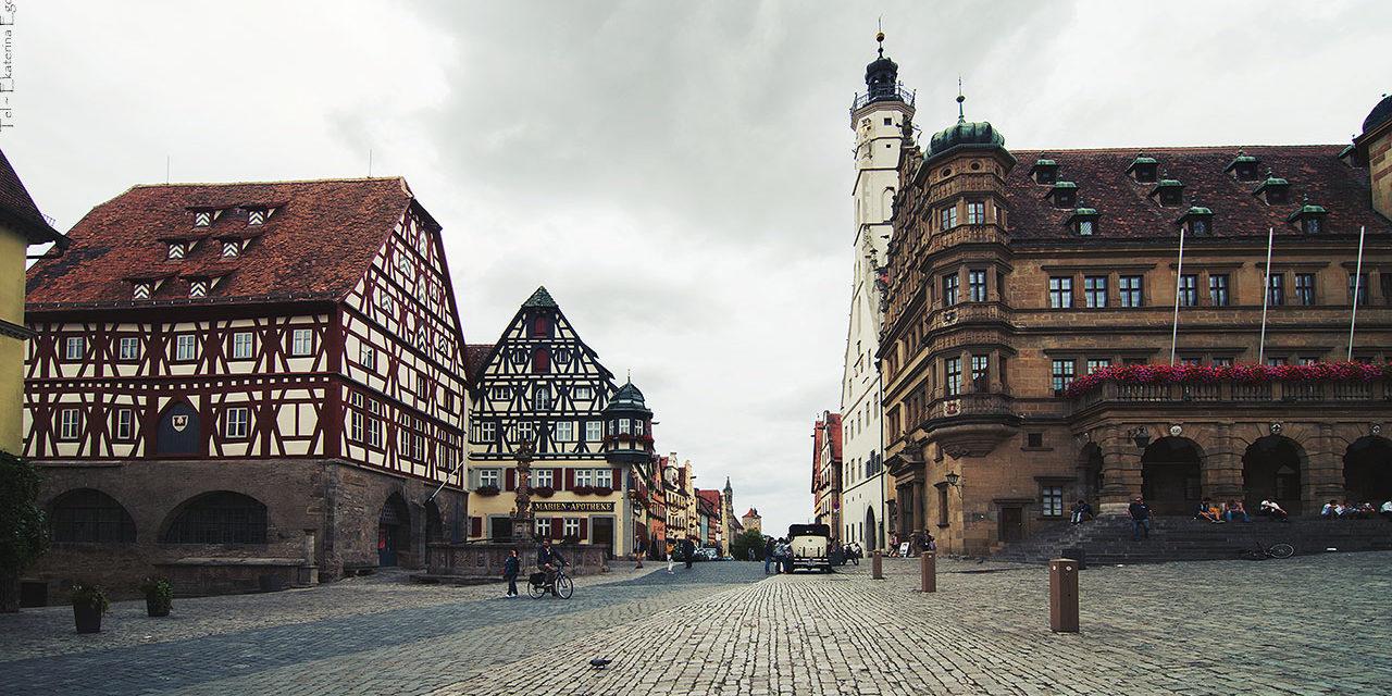 Немецкие города-дороги