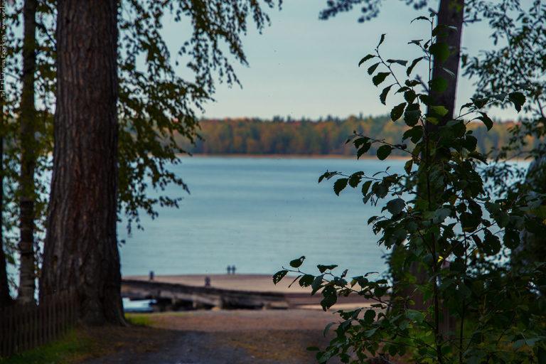 Фото: Вечернее озеро