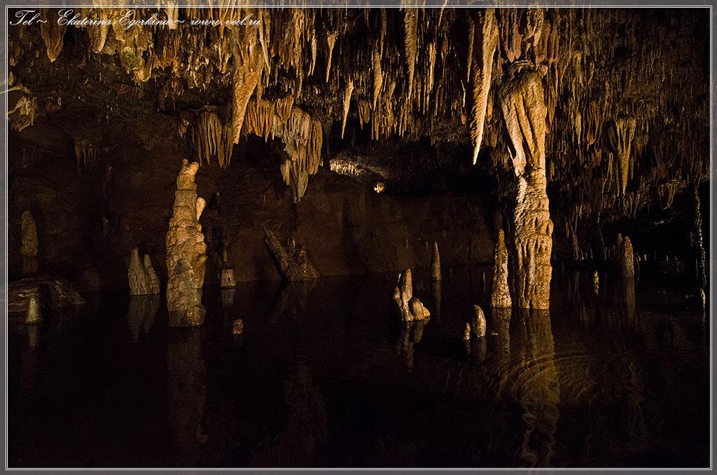 Американское путешествие. Пещеры Мерамек.