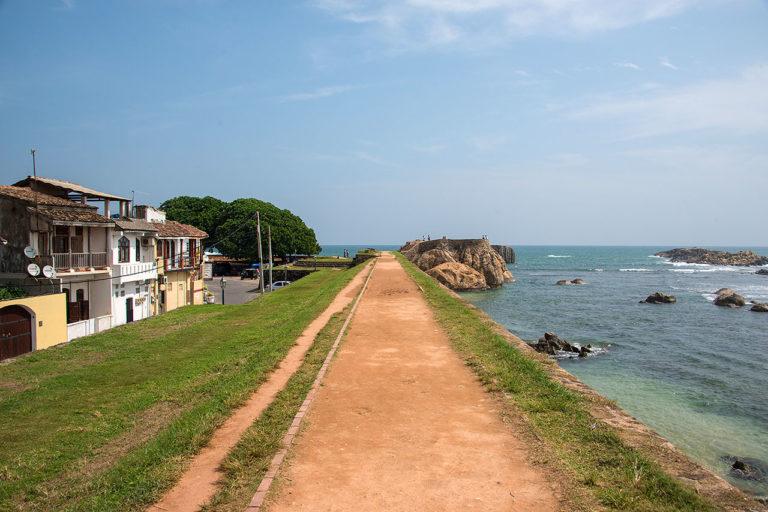 Портовый город Галле. Шри-Ланка.