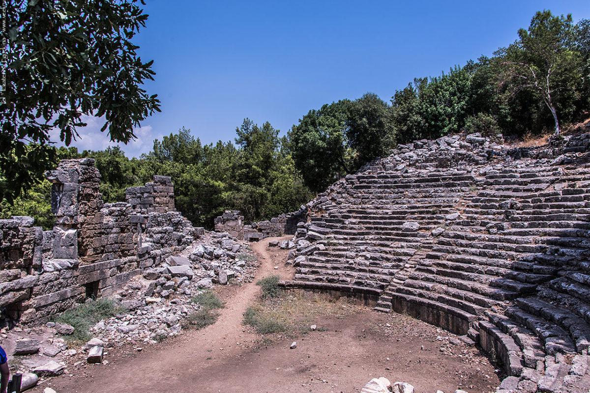 Фаселис – остатки древней цивилизации