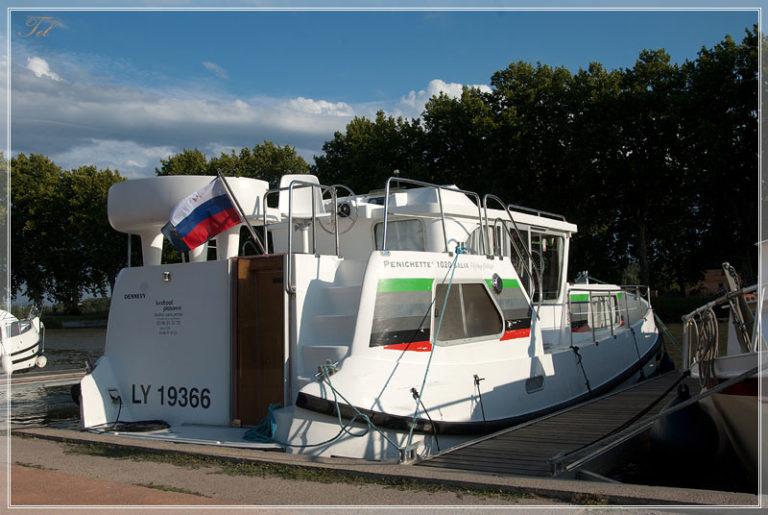 На лодке по du Midi. Подготовка.