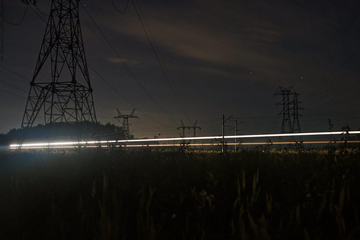 Ночные огни. Вне городских улиц
