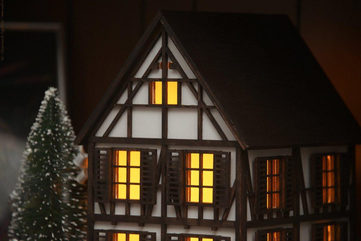 Волшебный домик-ночник