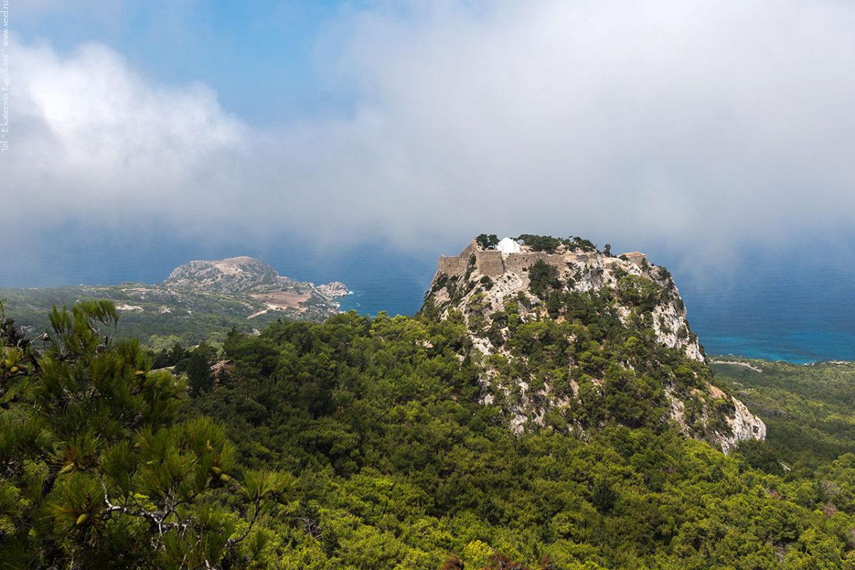 Родос. Древние крепости и акрополи